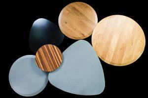 שולחן סלון מעץ מלא