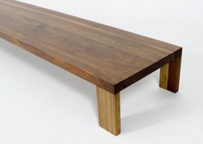 שולחן סלון מעץ מלא דגם דונקי חן בן טל