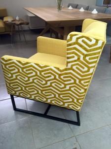 כורסא בעיצוב אישי