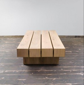 שולחן סלון עץ מלא דגם עדנים חן בן טל