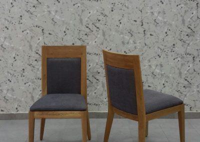 כסא מעין עץ מלא
