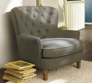 כורסא מרופדת
