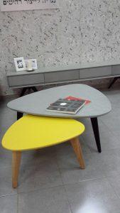 שולחן סלון בטון או צבע או עץ לבחירה