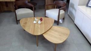 שולחן סלון טוליפ אלון מלא חן בן טל